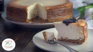 Cheesecake light con ricotta di bufala